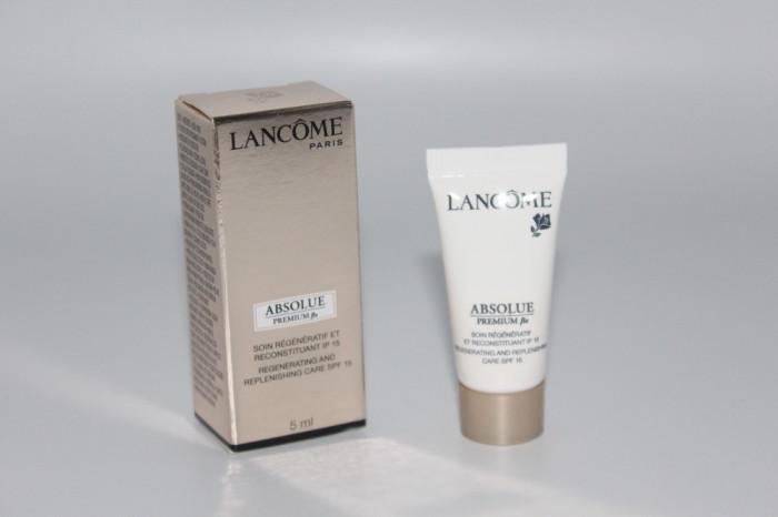 Crema de zi pentru fata Lancome Absolue Premium Gramaj 5 ml foto mare