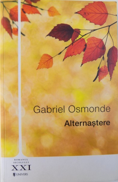 ALTERNASTERE de GABRIEL OSMONDE , 2014 foto mare