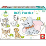 Puzzle Baby Disney Animals 19 Piese, Educa
