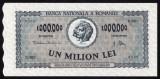 1. ROMANIA, 1000000 LEI 1947 aUNC+