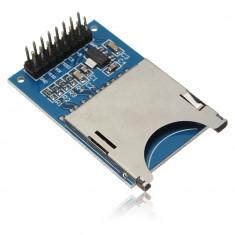 Modul SD Card, pentru aplicatii cu microcontroller-e, arduino