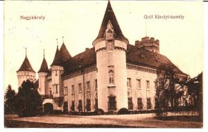 !!! RARR :  CAREI  -  CASTELUL  GROFULUI  KAROLY  -  CIRCULATA  1913