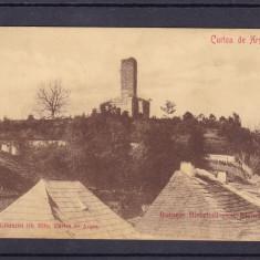 CURTEA DE ARGES RUINELE BISERICEI SANT-NICORA EDITURA LIBRARIEI GHE MITUCIRC1909, Circulata, Printata