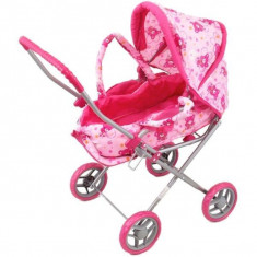 Carucior pentru papusi Teddy - Papusa Baby Mix