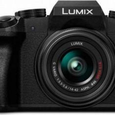 Aparat Foto Mirrorless Panasonic DMC-G7E, Obiectiv 14-42, 16.1 MP, CMOS, Filmare 4K (Negru) - Aparate foto Mirrorless