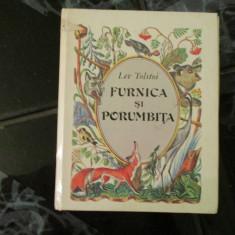 Furnica si porumbita - Lev Tolstoi - Carte Fabule