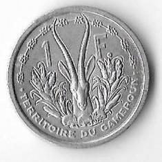 Moneda 1 franc 1948 - Camerun, Africa