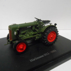 Macheta tractor HURLIMANN H12 - 1951 scara 1:43 - Macheta auto