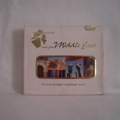 Vand cd dublu Music from Middle East  ,original  ! Muzica din  Iran,Egipt.