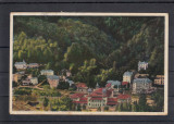 BAILE SLANIC    MOLDOVA   VEDERE  GENERALA   CIRCULATA  1933, Printata, Slanic Moldova