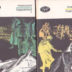 MANZONI - LOGODNICII ( 2 VOL ) ( BPT 656-657 )