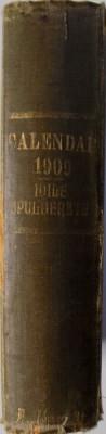 CALENDAR LITERAR SI ARTISTIC PE 1909 foto