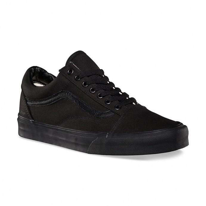 Shoes Vans Old Skool Black/Black canvas