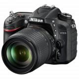 Aparat Foto D-SLR 7200 cu Obiectiv Nikon AF-S Nikkor f/3.5-5.6G ED VR AF-S DX, 24.2 MP, Filmare Full HD (Negru)