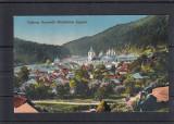MANASTIREA  AGAPIA  (MOLDOVA)   VEDERE  GENERALA   CIRCULATA  1917, Printata