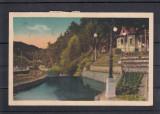 BAILE  SLANIC   MOLDOVA   VILA ADMINISTRATIEI SI RAUL SLANIC  CIRCULATA  1938, Printata, Slanic Moldova