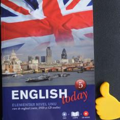 English Today vol 5, litera
