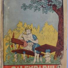 CALENDARUL PE ANUL 1927 AL ZIARULUI UNIVERSUL