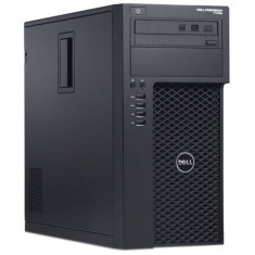 Workstation DELL Precision T1700 Tower, Intel Quad Core Xeon E3-1225 v3 3.2 GHz, 8 GB DDR3, 500 GB HDD SATA, DVD-ROM, Placa Video nVidia Quadro K600 - Sisteme desktop fara monitor