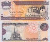 Republica Dominicana 50 Pesos 2013 UNC