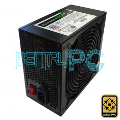 Sursa 420W Ultron Eco Force 6 x SATA 3 x Molex PCI-Ex 80+ PFC Activ GARANTIE! - Sursa PC Ultron, 430 Watt