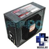 PROMO! Sursa modulara 920W MS-Tech 10 x SATA 3 x PCI-e Vent 140mm Active PFC, 750 Watt, MS Tech