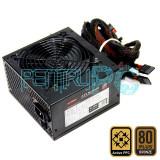 Ieftin! Sursa MS-Tech 750W M 6 x SATA 3 x Molex 6+2 PCI-Ex PFC Activ GARANTIE!, 750 Watt, MS Tech
