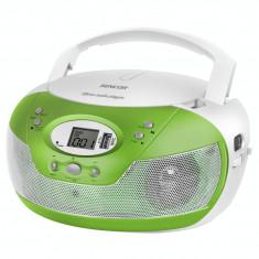 CD Player Sencor SPT 229 GN CD/USB/MP3 Radio AM/FM Green / White