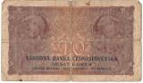 CEHOSLOVACIA 10 COROANE KORUN 1927 U