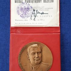 Medalie militara - Polonia - Tema WW2 - Generalul Stanislav