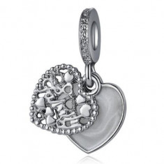 Charm pandantiv INIMA HEART talisman pentru Bratara PANDORA, Femei