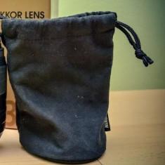 Sac protectie NIKON (55 300) / Saculet protectie NIKON / Husa Nikon 55 300 - Obiectiv DSLR