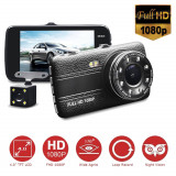 "Camera video auto de 4"" FULL HD 1080P fata/spate.Multifunctionala"