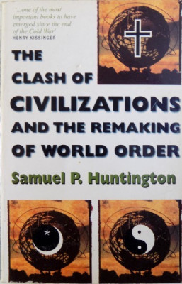THE CLASH OF CIVILIZATIONS AND THE REMAKING OF WORLD ORDER by SAMUEL P. HUNTINGTON , 1998 foto