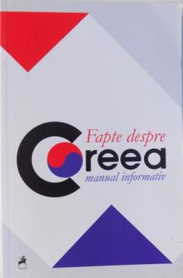 FAPTE DESPRE COREEA. MANUAL INFORMATIV 2015 foto