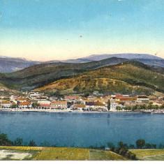 !!! RARR :  ORSOVA  -  VEDERE  PANORAMICA  -  CIRCULATA  1915, Printata