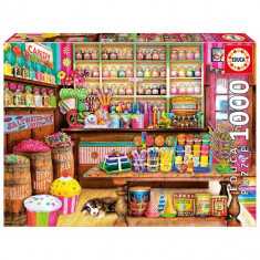 Puzzle Educa Candy Shop 1000 Piese