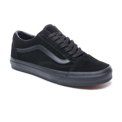 Shoes Vans Old Skool Suede Black foto
