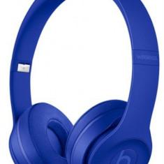 Casti Wireless Beats Solo 3 by Dr. Dre (Albastru) - Cartela Cosmote
