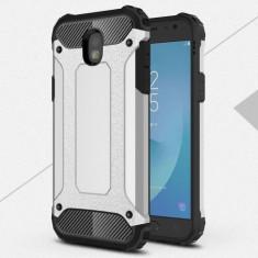 Husa Samsung Galaxy J5 2017 - Hybrid Armor Silver, Gel TPU