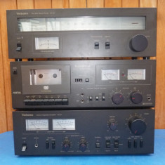 Linie audio Technics SU-Z1, ST-Z1, M5, vumetre cu ace