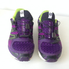 Adidasi Salomon X-CELERATE GTX alergare city trail, dama, masura 39 1/3 - Adidasi dama Salomon, Culoare: Mov