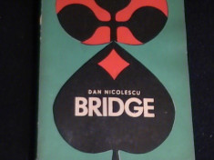 BRIDGE- DAN NICOLESCU-222 PG- foto