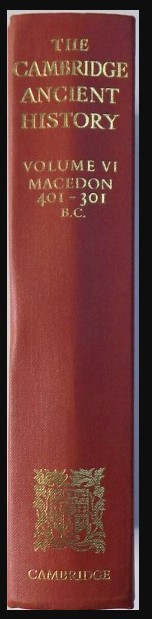 Cambridge ancient history/ ed. by J.B. Bury, S.A. Cook et al.  vol. 6 foto mare