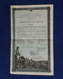 Obligatiune 1000 lei 1941 - Imprumutul Reintregirii