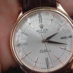 Replica ceas rolex aur 18 - Ceas barbatesc Rolex, Mecanic-Automatic