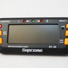 Metronom digital si tuner Supreme ST-35, Korg