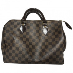 Geanta LOUIS VUITTON Speedy 30 AUTENTICA, Maro, Medie, Louis Vuitton