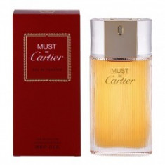 Apa de Toaleta Cartier Must de Cartier, Femei, 100ml - Parfum femeie