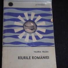 RIURILE  ROMANIEI-- VALERIA VELCEA-COL. ORIZONTURI-, Alta editura